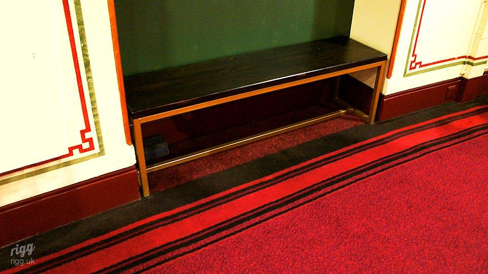 Concert Hall Furniture - Bench Seating