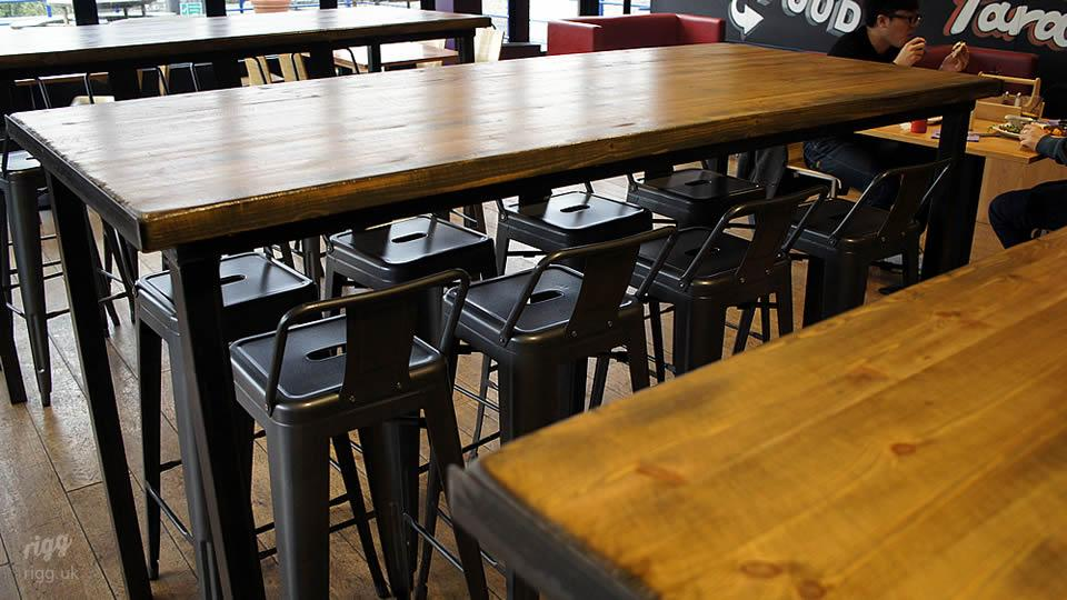 Industrial Style Bar Fitout