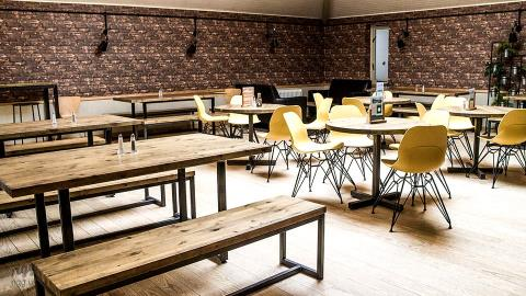 College Canteen Tables, Benches & Stools, Cambridge