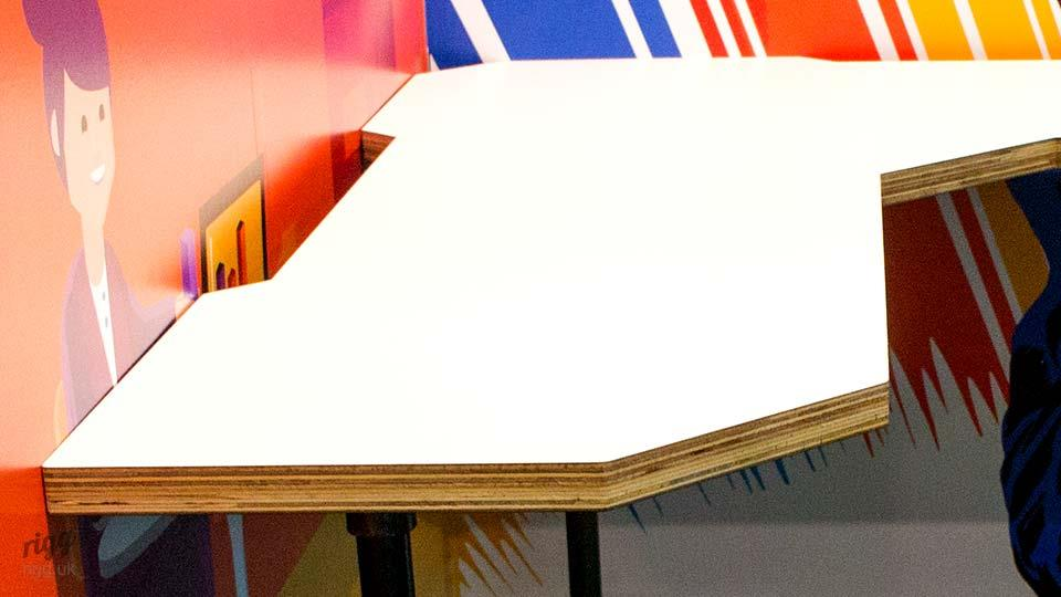 Teaching Space Table - Thick Plywood & HPL Top