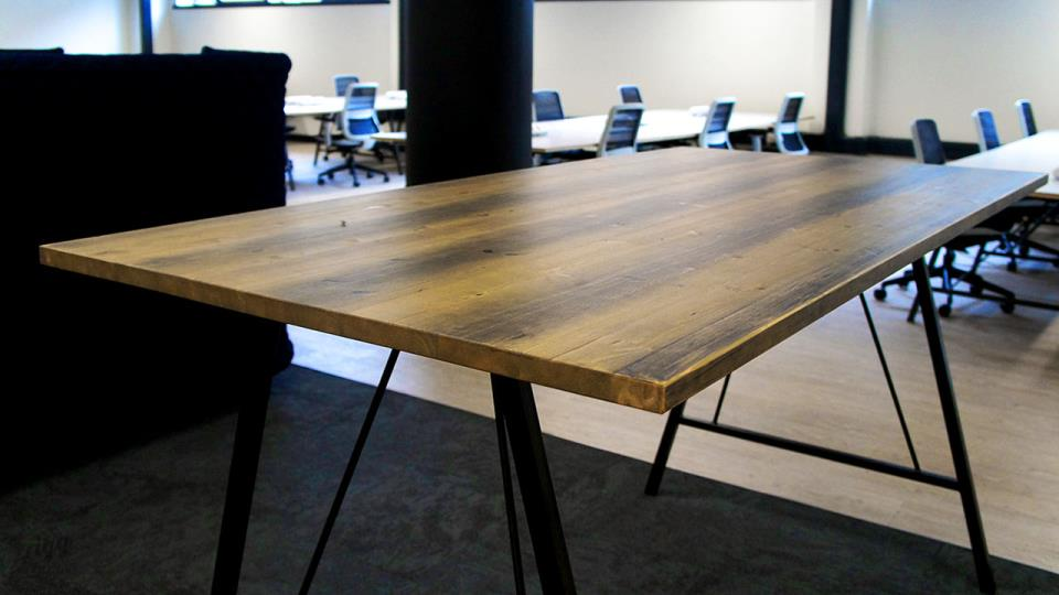 Rigg Furniture Manufactured in Birmingham, Installed in Lincoln Office Space