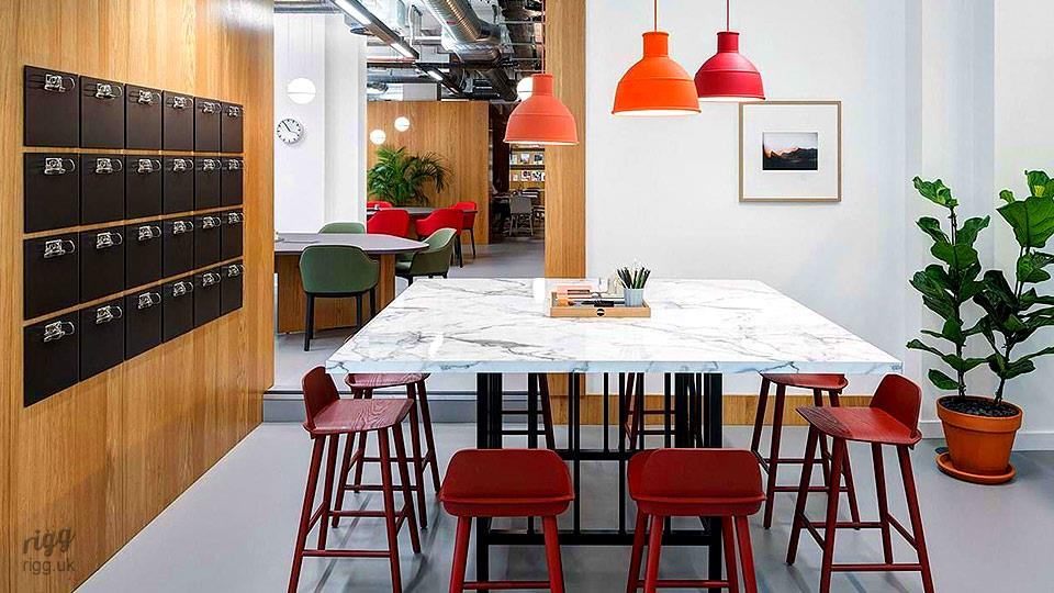 Shared Workspace Table, London