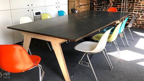 Large Meeting Table, Landscape Architect & Garden Design Office