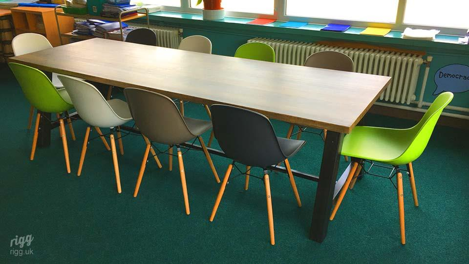 Large, Strong Educational Table for Schools & Colleges