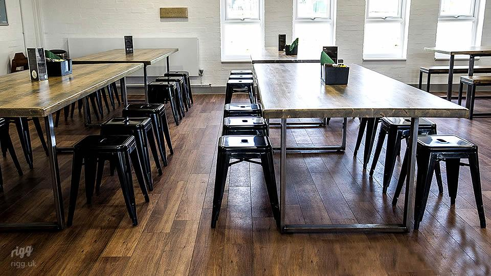 Industrial Cafe Tables