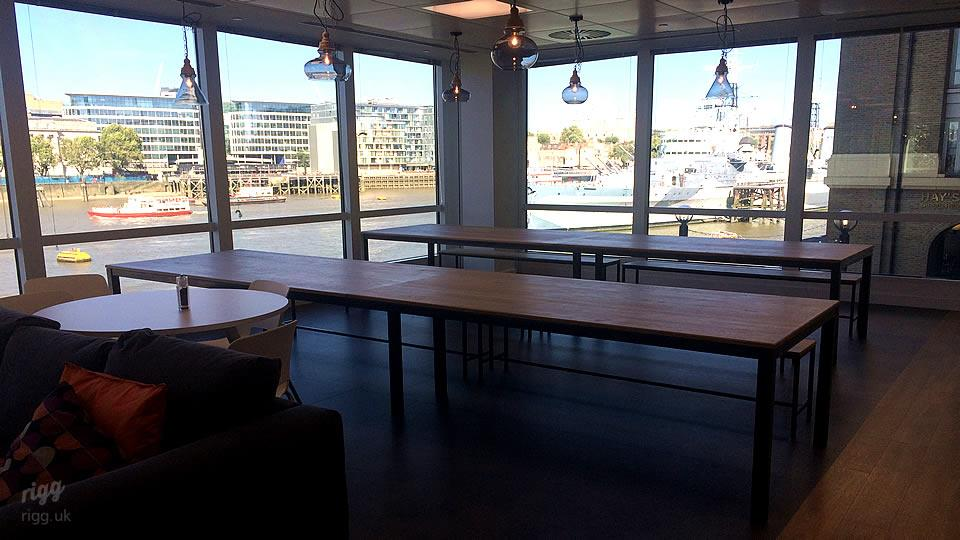 London Office Fit-out Tables