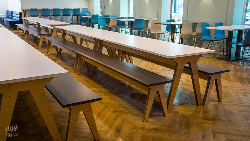 Education Sector Dining Hall Furniture