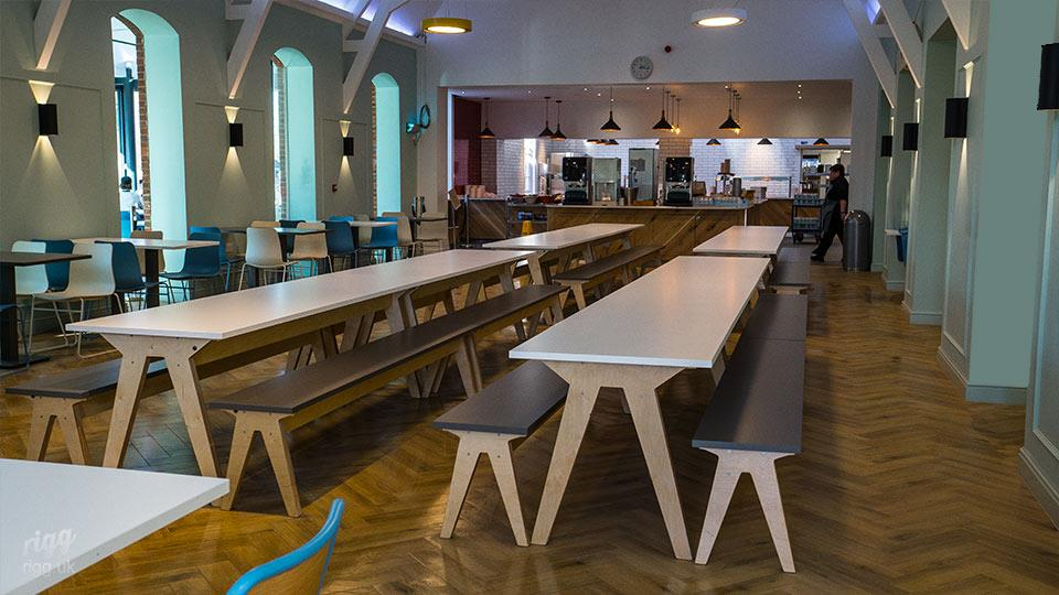 Lord Wandsworth College Dining Hall Furniture