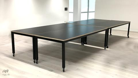 Office Tables on Castors - 20 Farringdon Rd London