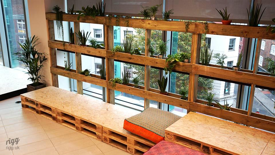 Bespoke Pallet Seating