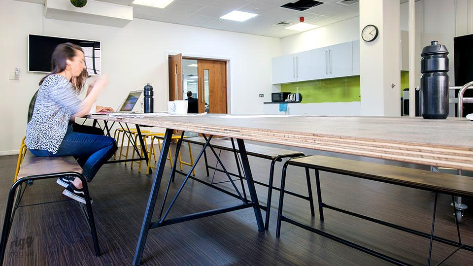 Trail Modular Long Communal Table