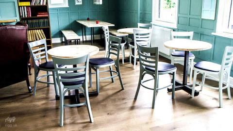 Royal Holloway Student Bar Furniture