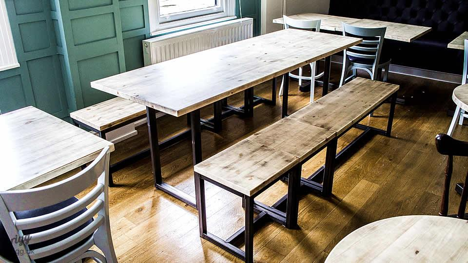 Industrial Bar Tables and Benches