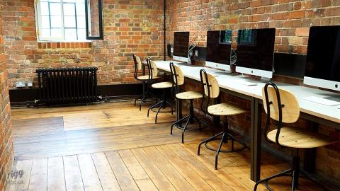 School Desks & Computer Workstations - King's School International College, Canterbury