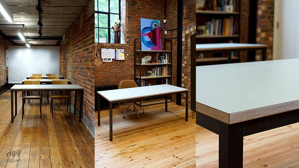 Custom Teaching & Classroom Furniture at Independent School - Desks & Shelving