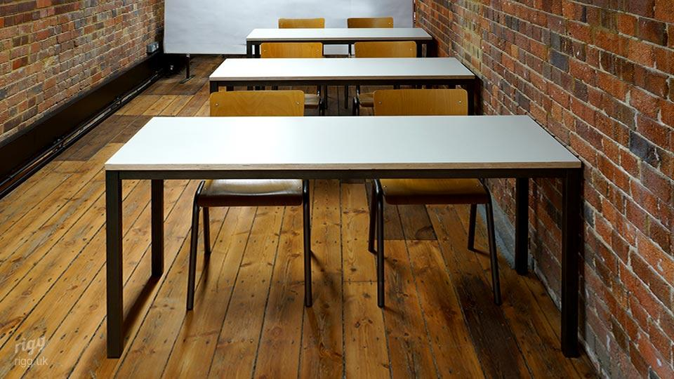 Modern-Rustic Style Teaching Space Fit-out with Old Brickwork - Malthouse Building, King's School
