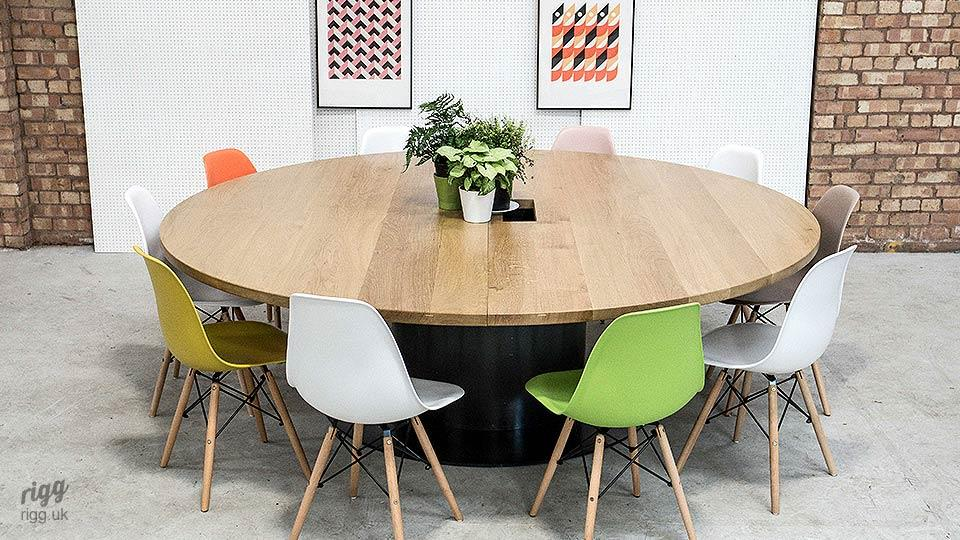 Round Office Tables - Large round office table