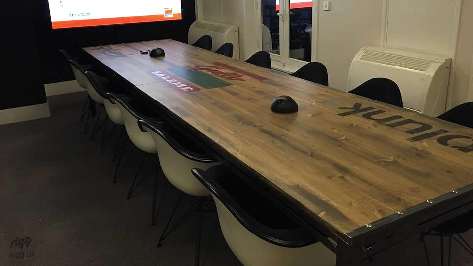 Office Media Table