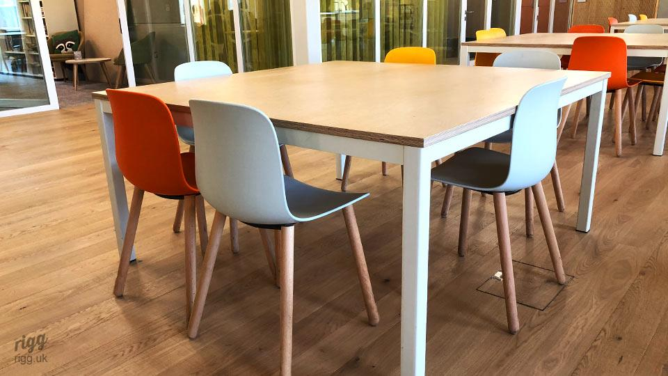 High Quality Bespoke Educational Furniture - Plywood Tables