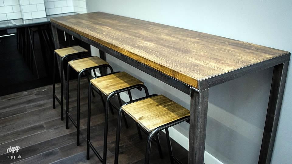 High Table and Bar Stools