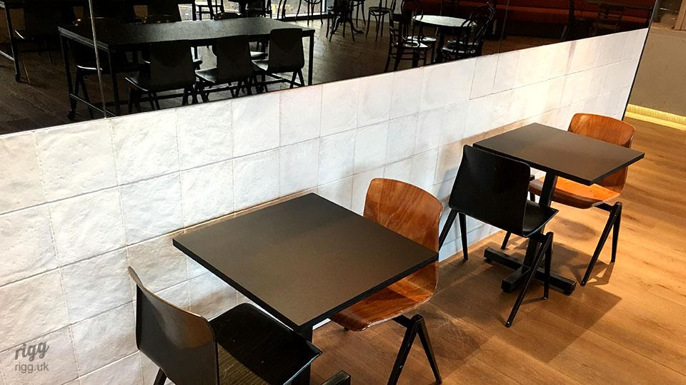 Linoleum Bistro Table