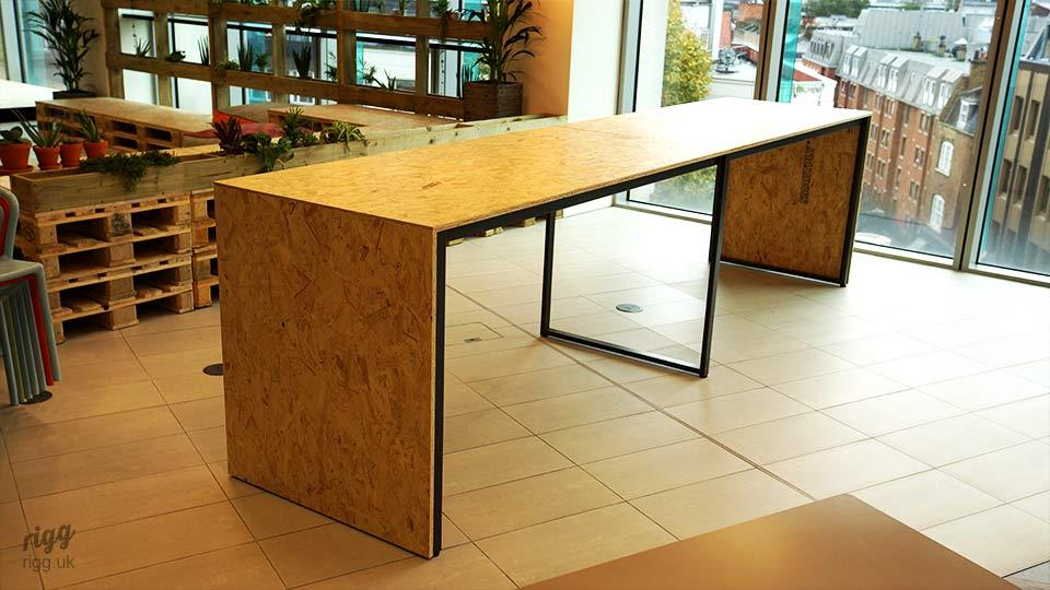 Large OSB Table