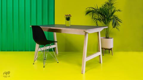 Trak Small Office, Educational & Hospitality Table with Plywood Base