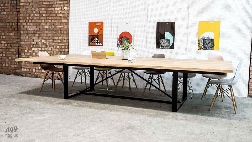 16 Seater Industrial Conference Table