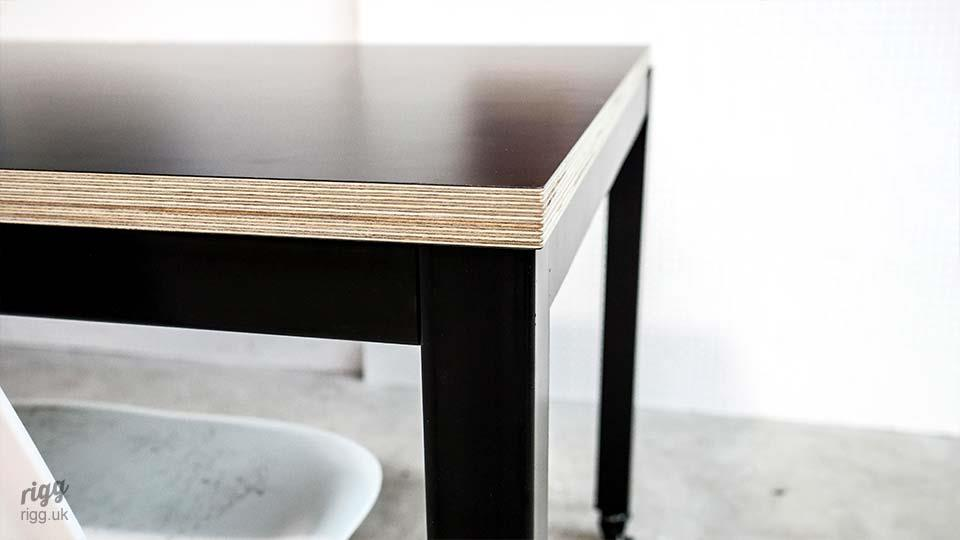 Black Birch Plywood Table Top
