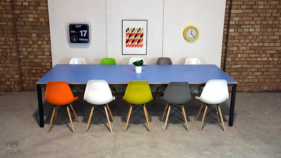 Colourful Office Table