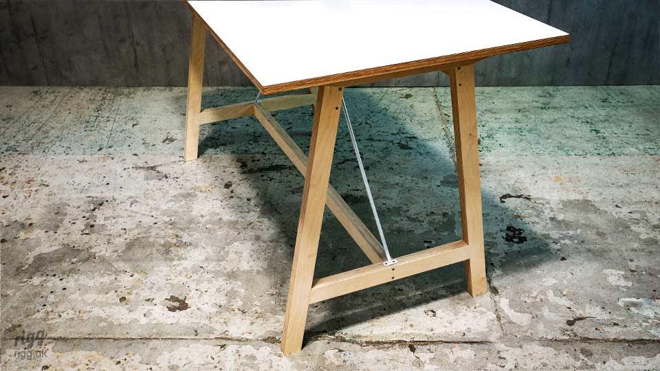 Modern High Touchdown Table for Offices, Schools, Colleges, Cafes