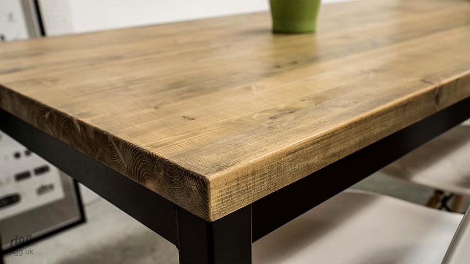 Office Table with Character Wooden Top