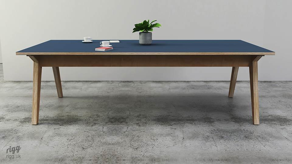 Synk Plywood & Laminate Workplace Table
