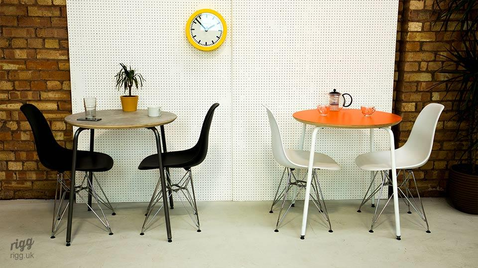 Modern Round Cafe Bistro Tables