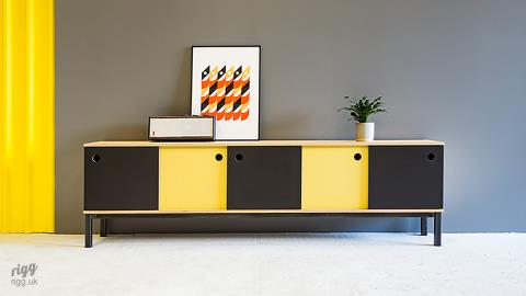 Solo - Birch Plywood Sideboard