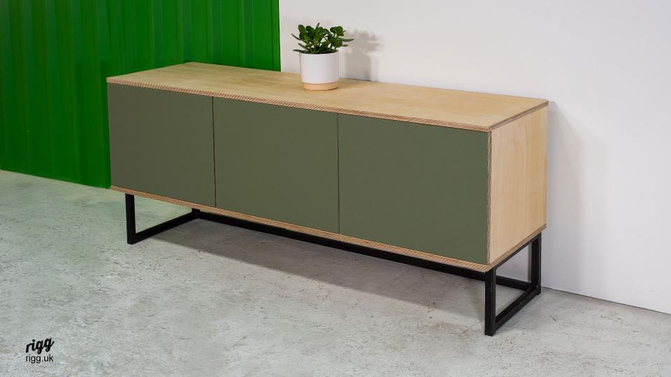 Plywood & Lino Sideboard