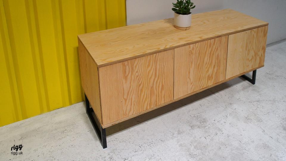 Douglas Fir Plywood Sideboard