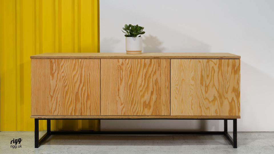 Mika Douglas Fir Plywood Sideboard
