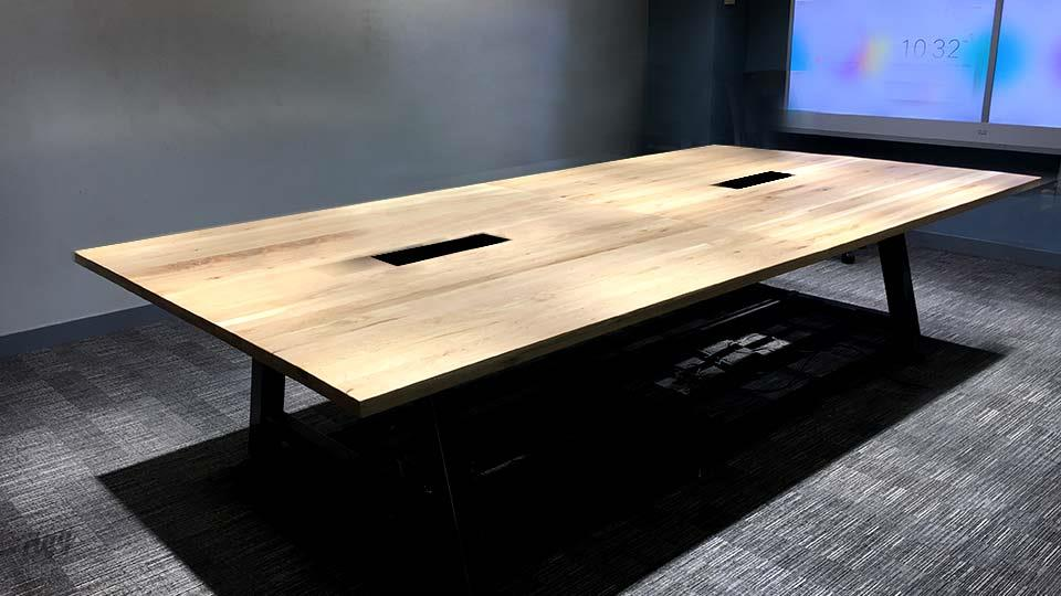 Large Industrial Conference Table