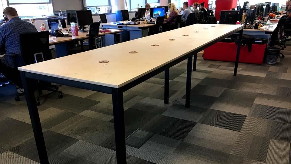 Long High Office Table