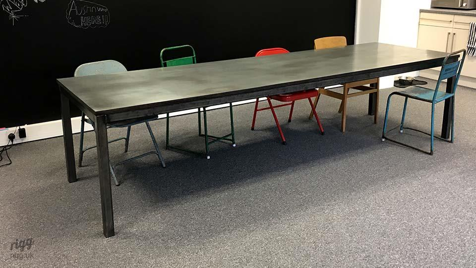 Quad Zinc Table