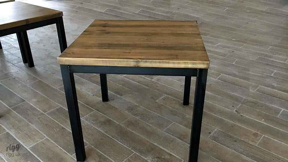 Square Industrial Table