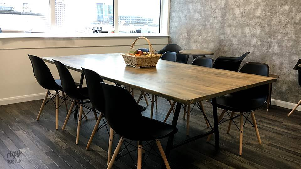 Trail Trestle Style Office Table London