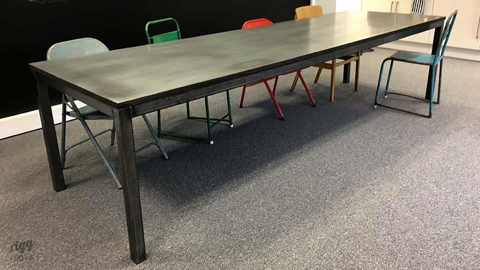 Zinc Office Table