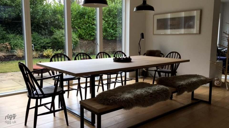 Dining Table Open Plan Kitchen
