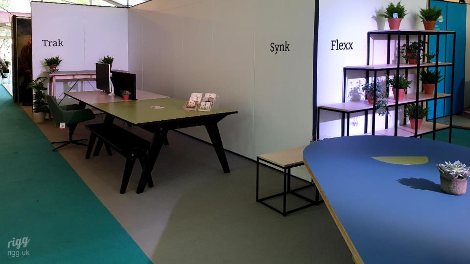 Trak, Synk, Flexx Office Furniture at CDW 2019