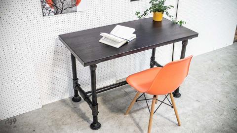 Small Industrial Pipe Desk