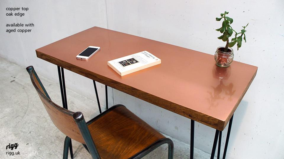 Copper Top Desk Please Select Your Choice