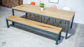 Contemporary Dining Table & Bench