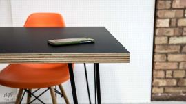 Hairpin Plywood Laminate Table